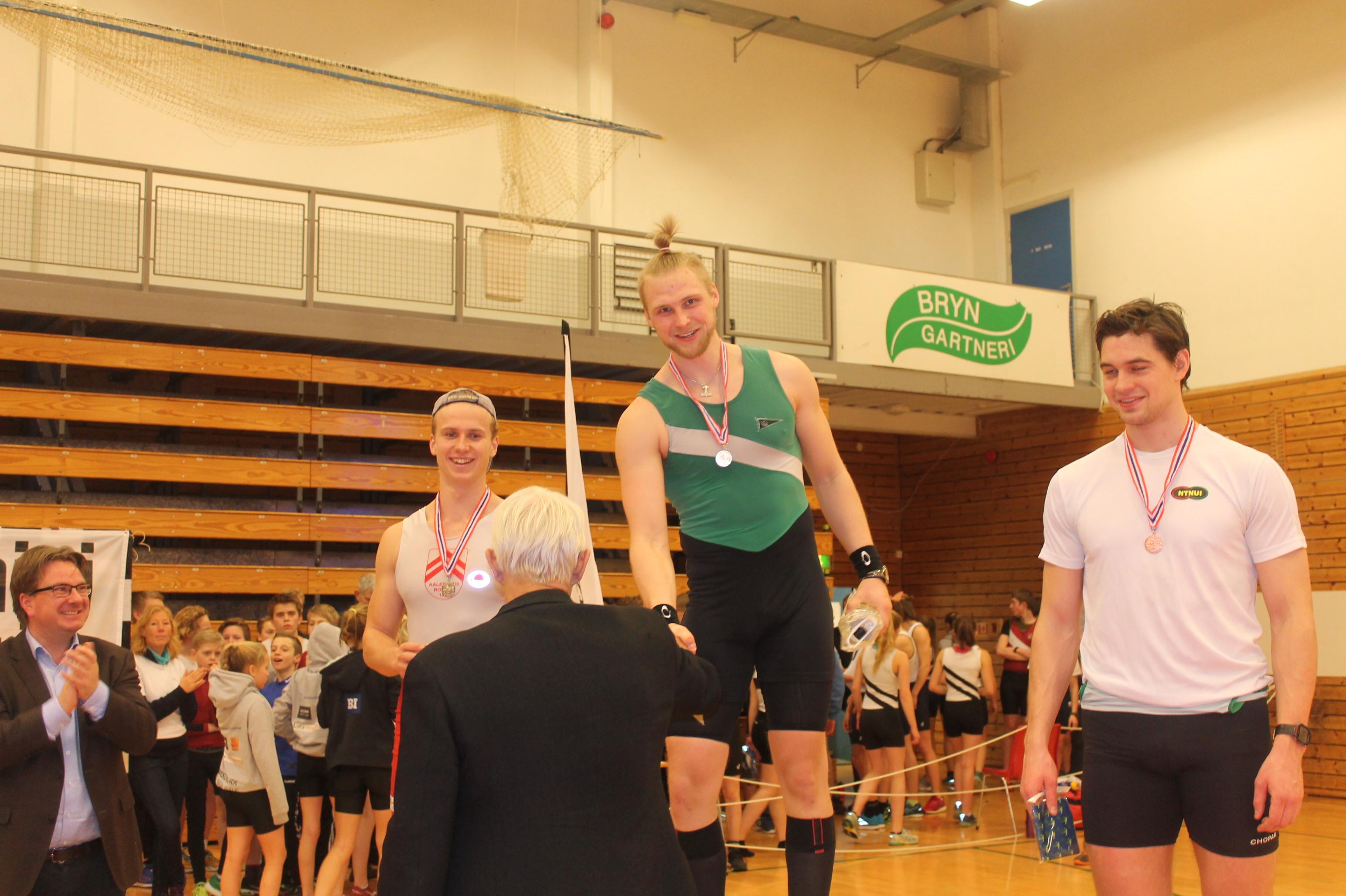 Kris Cato tohn vant seniorklassen.